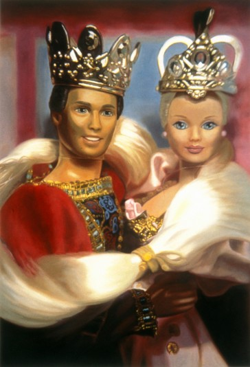 Prince Ken and Barbie as Rapunzel